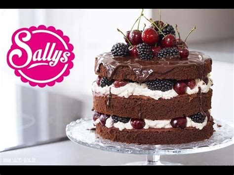 kuchen welt cake schokoladentorte mit mascarponecreme kirschen