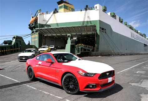 Ford Melbourne by Ford Mustang Ford Mustangs Land In Melbourne Goauto