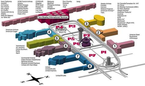 lax floor plan lax airport floor plan google search thesis