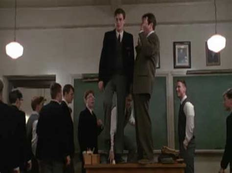 Down On Dead Poets Society The Dish Dead Poets Society Standing On Desks