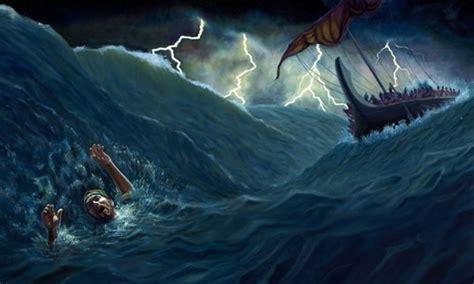 jonah thrown off the boat ciekawe myśli z biblii jonasz poznając autora biblii