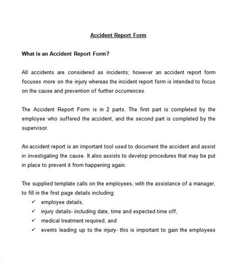 incident investigation report template incident report template 35 free word pdf format