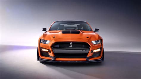 Ford K 2020 by 2020 Ford Mustang Shelby Gt500 Front 4k Mustang Wallpapers