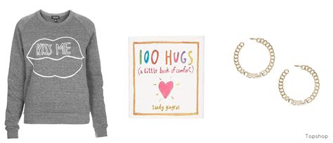 libro 100 hugs twin lips valentine s day love inspiration