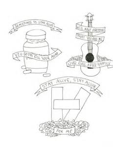 Song Lyric Wall Stickers twenty one pilots song in drawing by andyzaart on deviantart