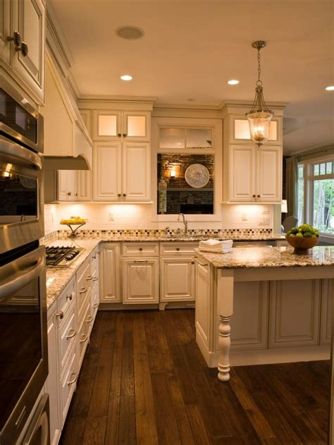 undercounter kitchen lighting this charming kitchen is opened up with a peep through