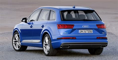 audi q7 second generation 7 seater suv debuts image 295873