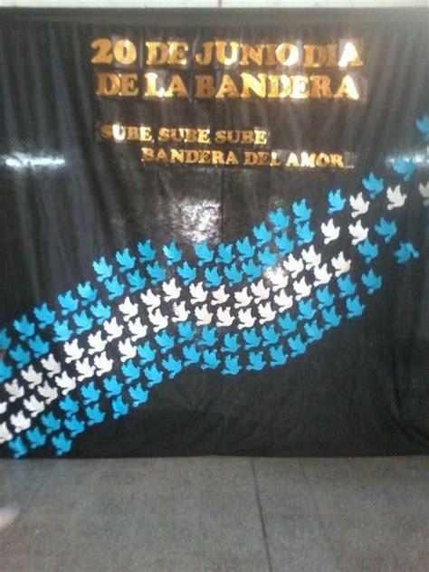 palabras para recibir la bandera manualidades del d 237 a de la bandera argentina adornos