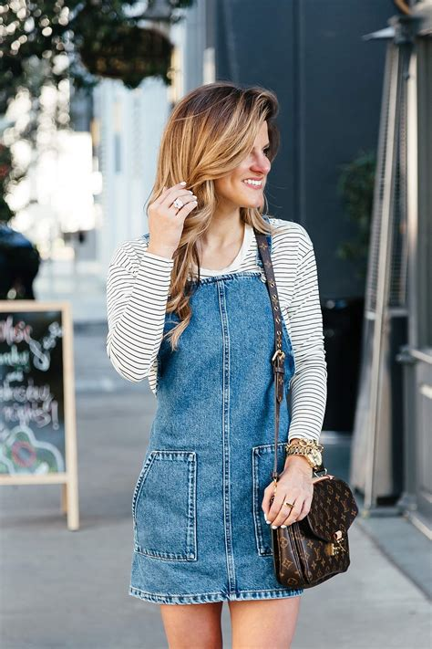 Overall Stripe Blouse a feminine take on the overall trend brightontheday