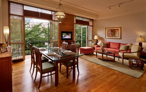 treetops executive residences singapore serviced