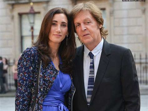 Was Paul Mccartney With Nancy Shevell by Sir Paul Mccartney Nancy Shevell 9 Largest Musical