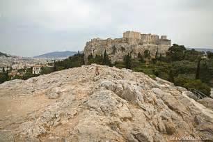 Mars Hill Areopagus Where Apostle Paul Addressed