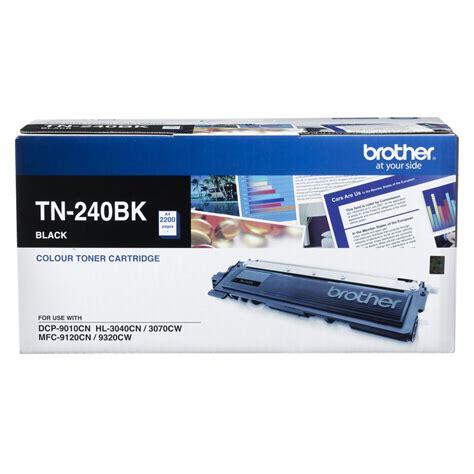 Toner Original Tn348c tn 240bk toner cartridge black officeworks