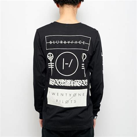 Sweater Twenty One Pilots 4 Dealldo Merch twenty one pilots emblem sleeve