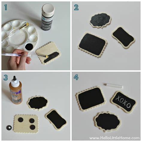 diy magnets crafts diy mini chalkboard magnets