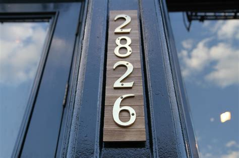 house numbers how to make stylish house numbers danmade watch dan faires make reclaimed wood