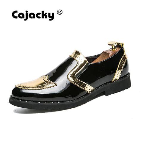 cajacky europe design brogue shoes big size 6 5 11 5 dress shoes sequin mocasines