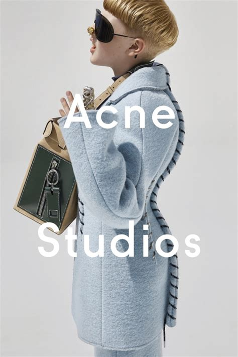 acne studios casts an 11 year old boy in fallwinter 2015 kid s wear an 11 years old boy is the new face of acne