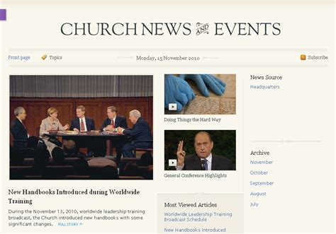 lds news room official news site on lds org lds media talk new resources social media