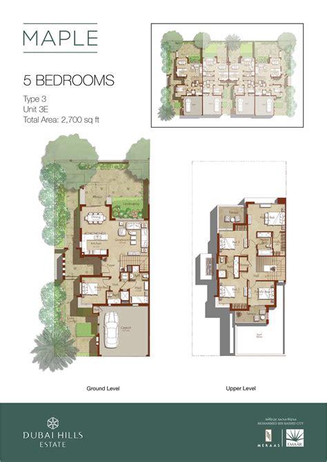 downloads for maple at dubai dubai - 1 Level Floor Plans Maple Grove
