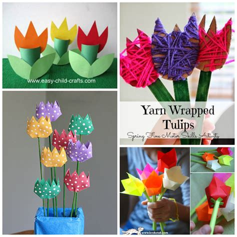 beautiful crafts for beautiful tulip crafts that can make crafty morning