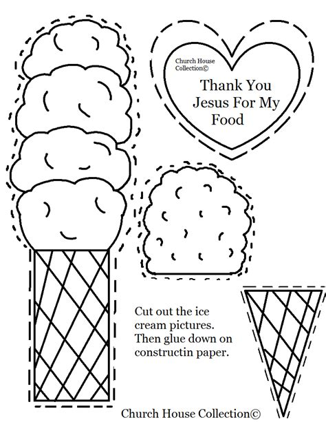 thank you god for jesus coloring page church house collection blog ice cream cut out quot thank you