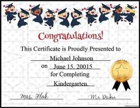 Graduation Certificate Texts Elementary Schools And Kindergarten Elementary School Graduation Diploma Template