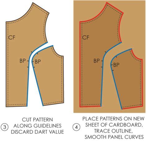 pattern cutting princess line fundamentals of pattern making princess panel the
