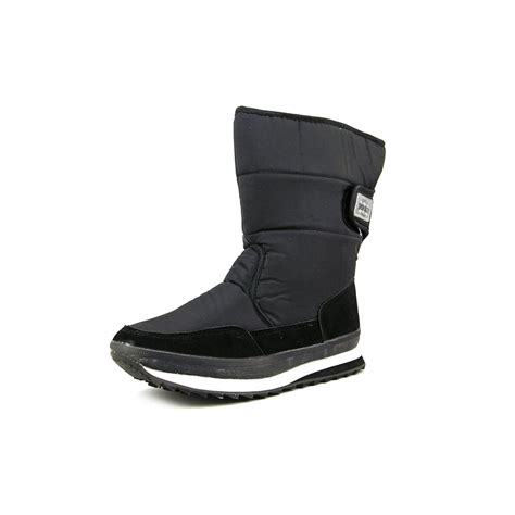 blowfly snow joggers womens size 13 5 black snow boots uk
