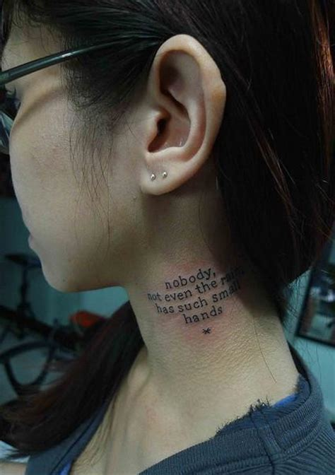 neck tattoo sayings neck quotes like success