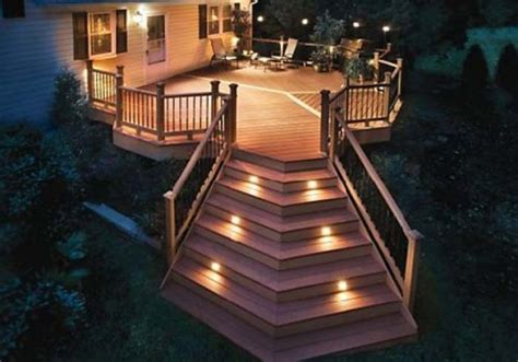 Patio Deck Lighting Ideas Deck Design Ideas