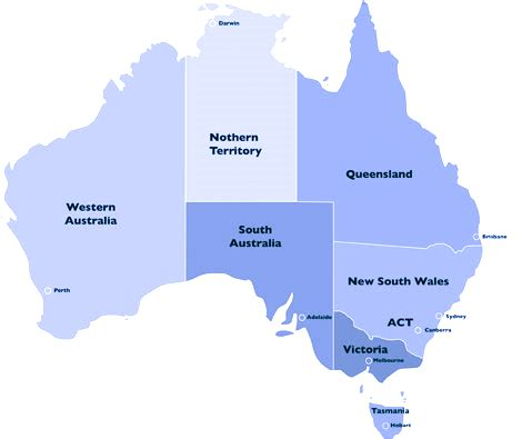 states in australia map map of australia earthquakes thinglink
