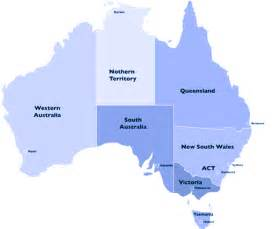Map Of Australian States by Pics Photos Map Of Australia Showing States And Capital