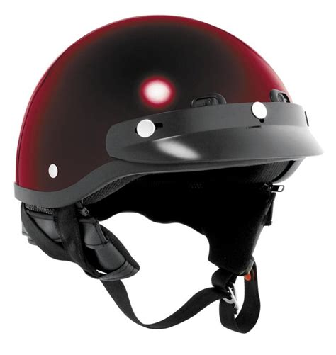 kbc motocross helmet kbc tk410 half helmet dark red