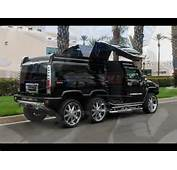 TANDEM AXLE HUMMER H2 LIMO CONVERSION BY QUALITY COACHWORKS
