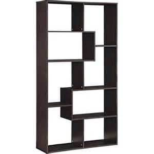 home bookcase mainstays home 8 shelf bookcase walmart