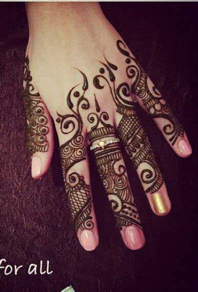 29 popular mehendi design for fingers only makedes com