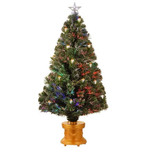 3 ft fiber optic xmas tree national tree company 3 ft fiber optic fireworks evergreen artificial tree szex7 100