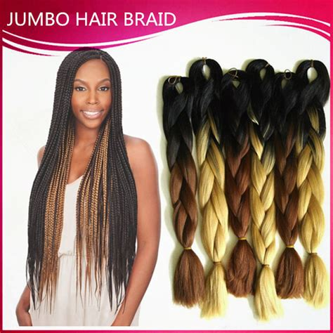 suwa african braiding hair aliexpress com buy ombre kanekalon braiding hair 24inch