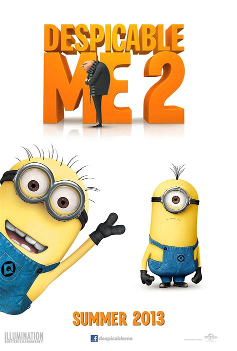 Poster Despicable Me 3 Original One Sheet 69 X 100 Cm pictures for despicable me 2 2013 bcdb