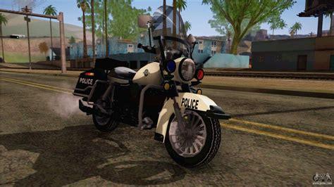 gta  police bike  gta san andreas