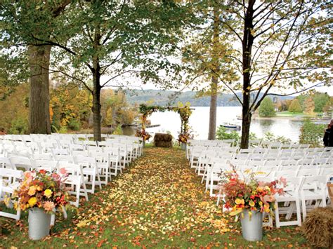 outdoor wedding ceremony ideas 3 outstanding fall inspired wedding ceremony arrangement weddceremony