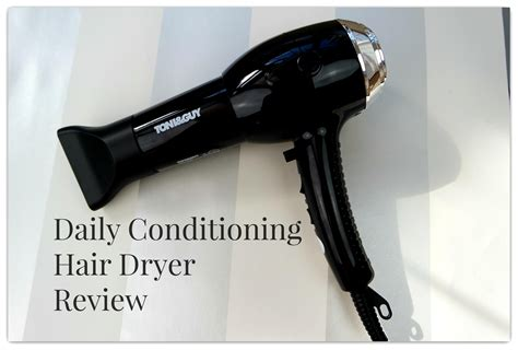 Hair Dryer Everyday toni daily conditioning hair dryer review