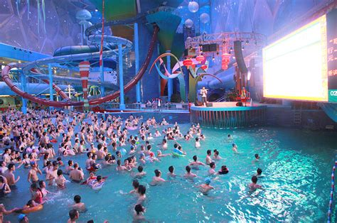 beijing water cube waterpark whitewater west
