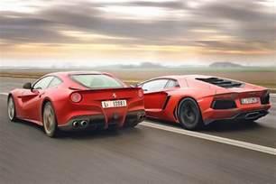 F12 Vs Lamborghini Aventador Lamborghini Aventador Vs F12 Car List