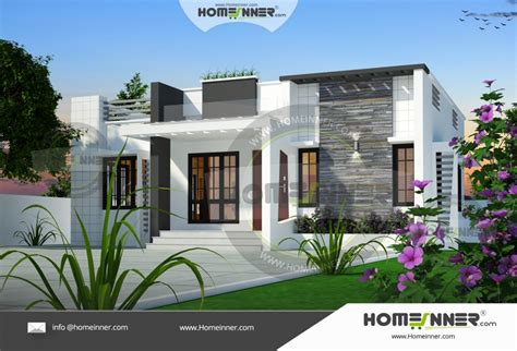 850 sq ft 3 bedroom small modern house design