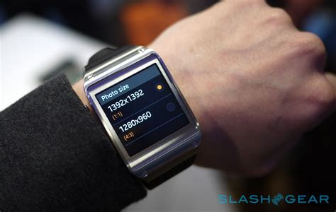 samsung smartwatch samsung galaxy gear on slashgear