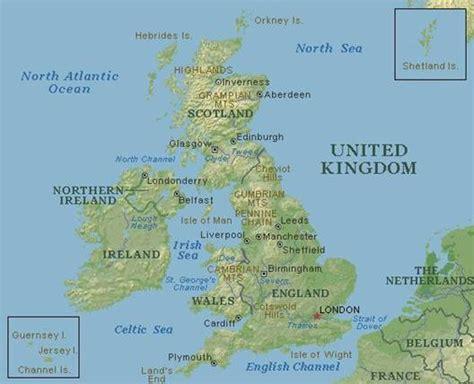 united kingdom map with mountains la revoluci 243 n industrial en gran breta 241 a monografias com