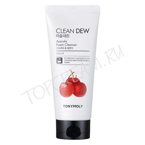 Harga Tony Moly Clean Dew Lemon Foam Cleanser Kulit Berminyak tony moly clean dew acerola foam cleanser