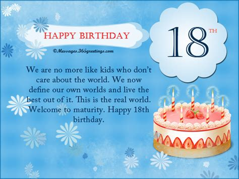 Happy 18th Birthday Wishes Image Happy 18th Birthday Message Download